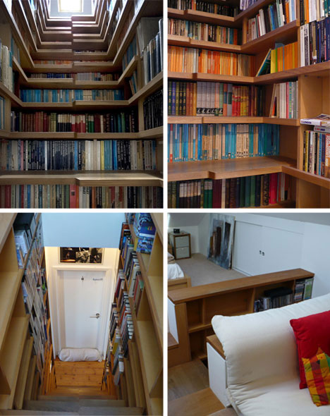 Bookcase Stairs Brilliant Bookcases: 20 Best Bookshelf & Bookcase Designs