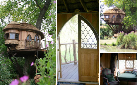 Look Up! 15 More Amazing Tree Houses From Around The World