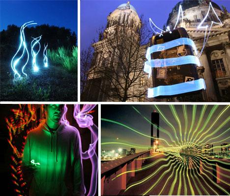 10 Amazing Light Graffiti Artists and Photographers