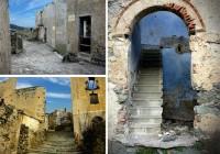 Abandoned Mountain Town Sardinia