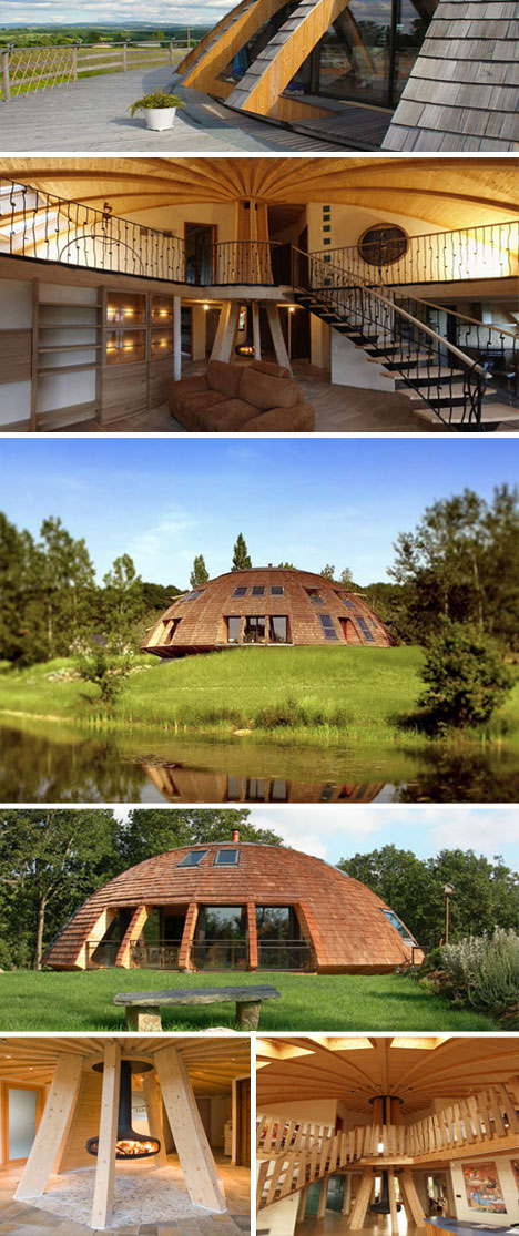 Sustainable And Rotating Eco Dome Home Urbanist