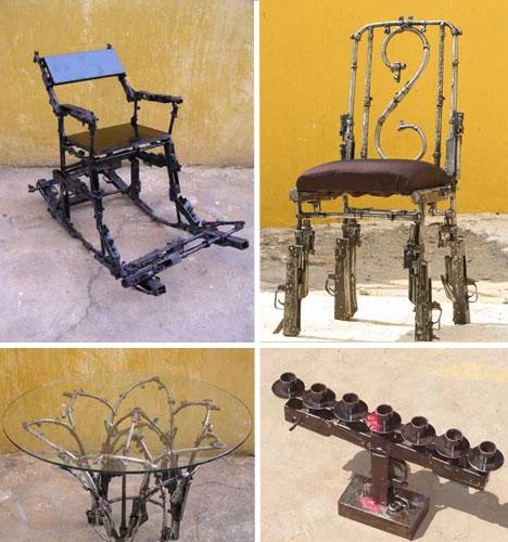 Artwork of War 20 Piercing Works of Gun and Bullet Art