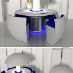 Space Saver Kitchen Table And Chairs Cabinet Refacing Mississauga Domestic Visions: 15 Futuristic Modern Furniture Designs ...