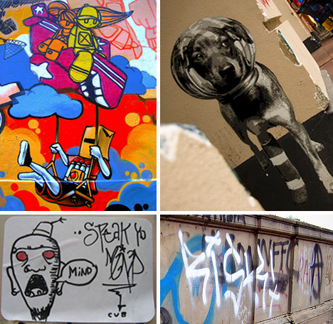 Graffiti Types and Styles