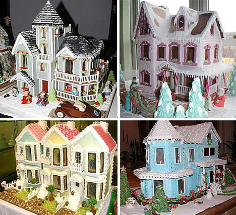 32 Astounding Architectural Designs Of Gingerbread Houses Urbanist