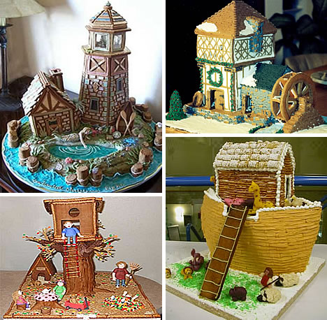 Lighthouse Gingerbread House Ideas House Interior