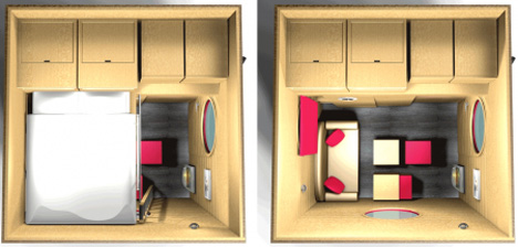 10x10 kitchen design best radio shrink your footprint: 10 little examples of tiny houses ...