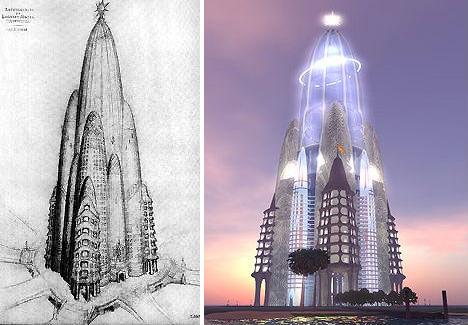 RetroFuturism 13 Failed Urban Design Ideas  Concepts