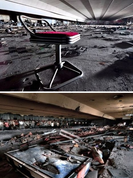 Abandoned Bowling Alley Near Me : abandoned, bowling, alley, Striking, Beauty:, Eerie, Abandoned, Bowling, Alleys, Urbanist