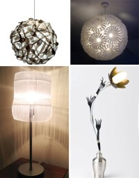 Bright Ideas: 41 Bold, Beautiful + Bizarre Recycled Lamps