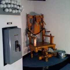 Florida Electric Chair Wooden Glider Replacement Cushions Old Sparky The Shocking History Of Urbanist Image