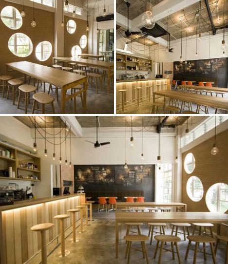 Crafty to Crazy 13 Contemporary Cafes  Coffee Shops