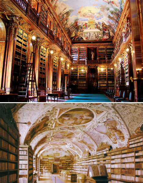 Bountiful Books: 13 Incredibly Intricate Historic Libraries | Urbanist