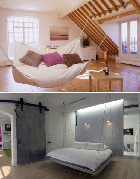 hanging chairs with stand for bedrooms zero gravity chair cup holder the swings of things: 15 daring swing set designs | urbanist