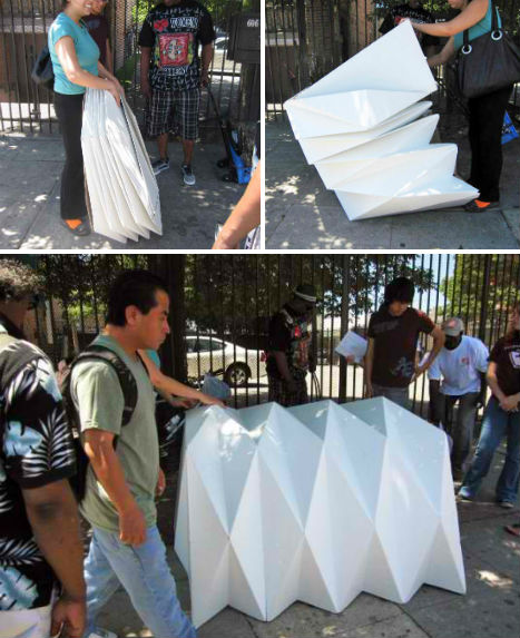 folding chair into bed asian inspired chairs housing for the homeless: 14 smart & sensitive solutions | urbanist