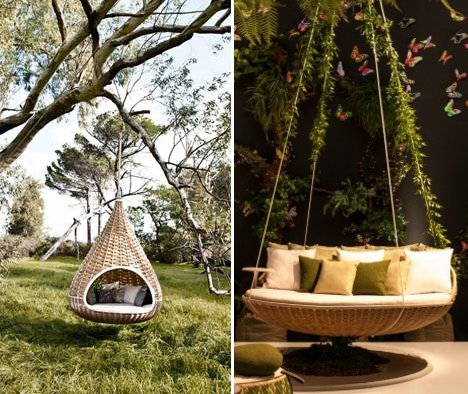 teardrop swing chair owl high nest rests dynamic duo of outdoor lounging urbanist