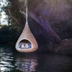 Teardrop Swing Chair Wheelchair Egypt Nest Rests Dynamic Duo Of Outdoor Lounging Urbanist The