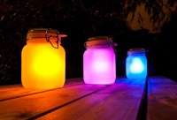 Sun in a Jar: Make DIY Solar Lamps Aglow with Awesome ...