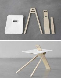 Flat-Pack Furniture: 3 Modern Designs from Noon Studio ...