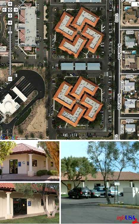Crossed Up 9 Twisted SwastikaShaped Buildings  Urbanist