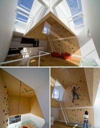 Domestic Daredevils: 12 Insanely Cool Home Climbing Walls ...