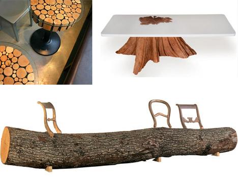 modern log furniture makers