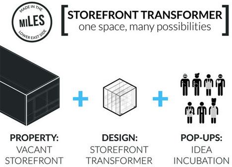 Storefront Transformer: Magic Box Reprograms Empty Space