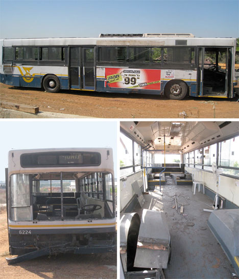 Converted Buses City Israel 1