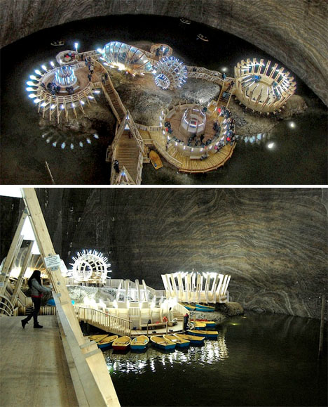 Minas de sal subterráneo Museo 2