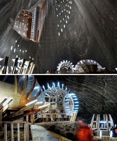 Minas de sal subterráneo Museo Rumania 4