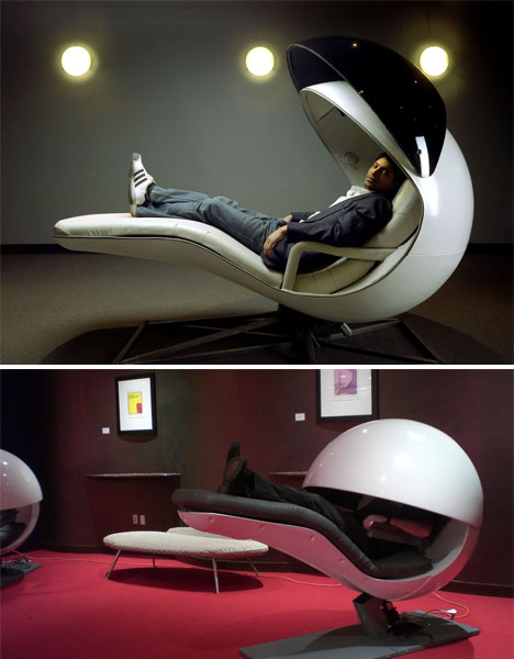 energy pod chair patio club chairs pods to ostrich pillows 15 nap worthy inventions urbanist napping furniture energypod