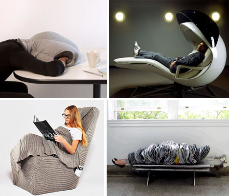 Energy Pods to Ostrich Pillows 15 NapWorthy Inventions
