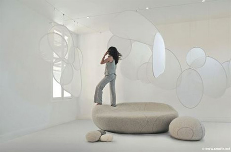 Flintstones Furniture 15 Designs Made of Stone and Lava