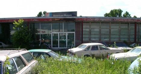 abandoned Collier Motors AMC Pikevills NC