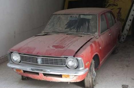 abandoned Toyota dealership Cyprus