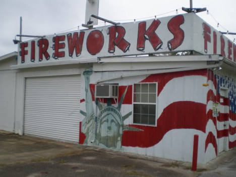 Boom To Bust 10 Abandoned Fireworks Stores  Stands