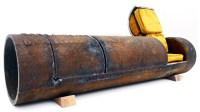 Sewer Pipe Sofa: Rusted NYC Tubes Recycled as Urban ...