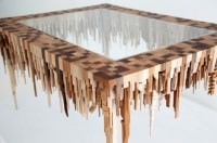 Micro Metros: Abstract City Models Carved from Wooden ...