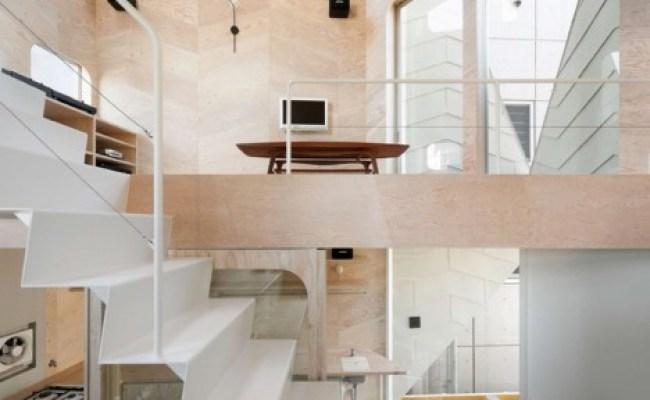 Herringbone House Tiny Tokyo Residence Split Into 7