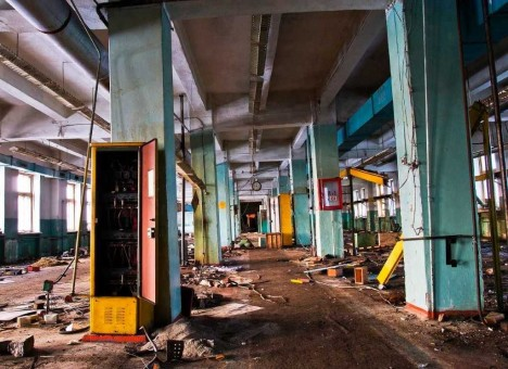 Played Out 10 Cheerless Abandoned Toy Factories  Urbanist