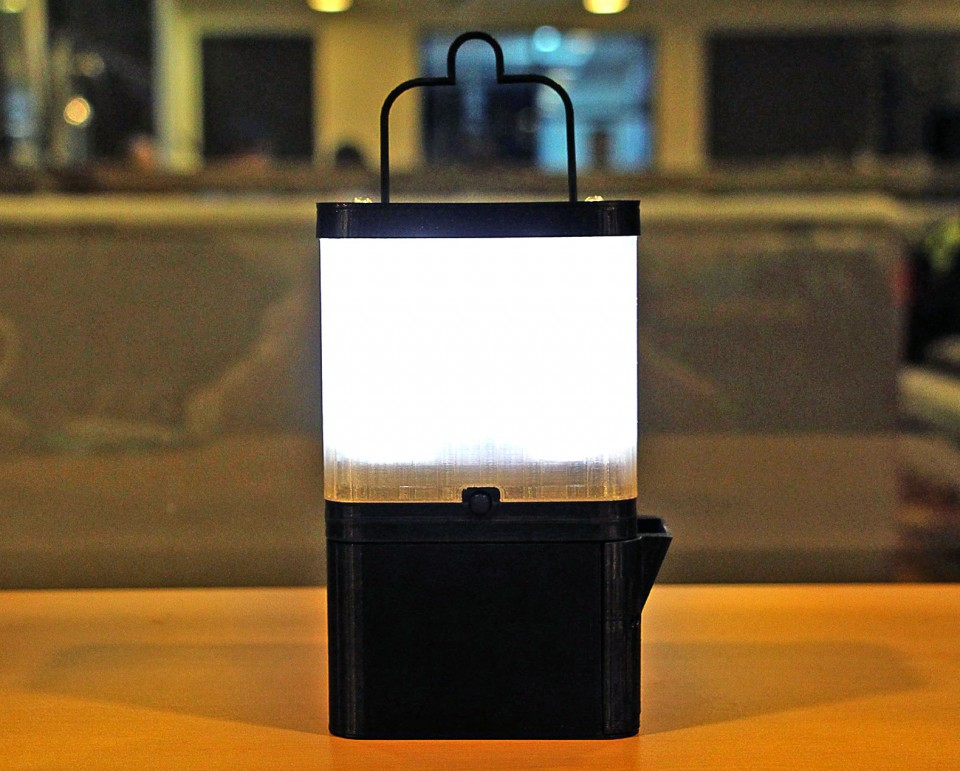 salt energy lamp design