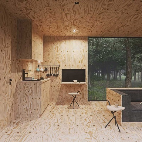 Power Of Plywood 15 Beautiful Amp Affordable Interior