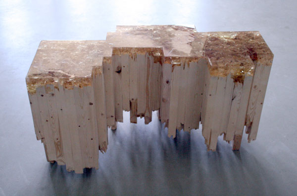 Filling the Void 25 ResinInlaid Wood Furniture Designs