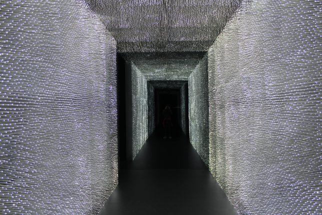 The Darkest Building on Earth An Olympic Pavilion Coated in Vantablack  Urbanist