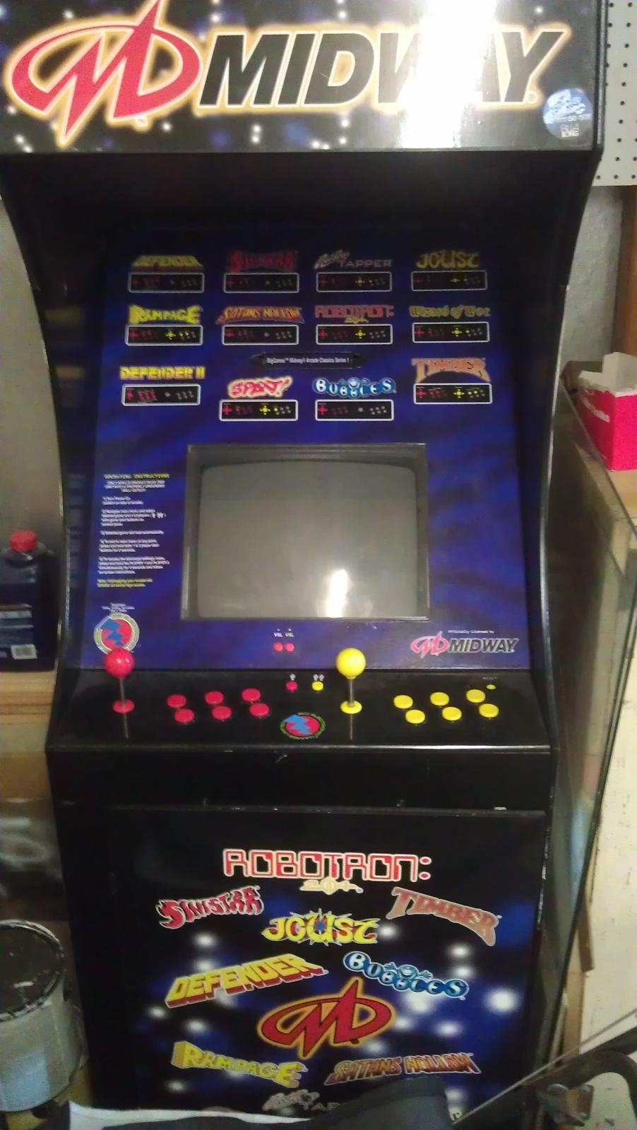 Midway 12in1 video arcade game for sale in Wilmington