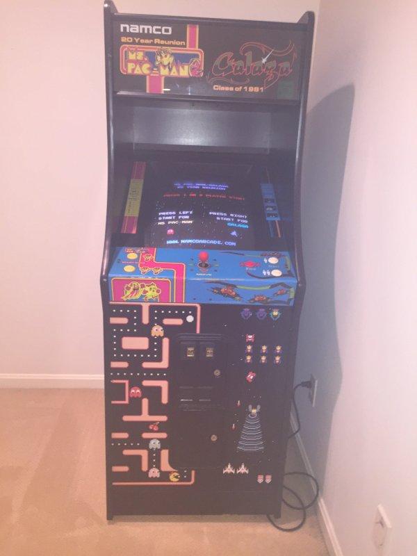Galaga Pac Man Video Arcade Game In Cincinnati