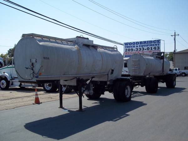 Beall Double Tank Trailers water tanks etc 4180 gallons $2500