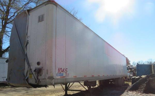 Semi Trailer 53′ van (Catersville , GA) $4500  4500