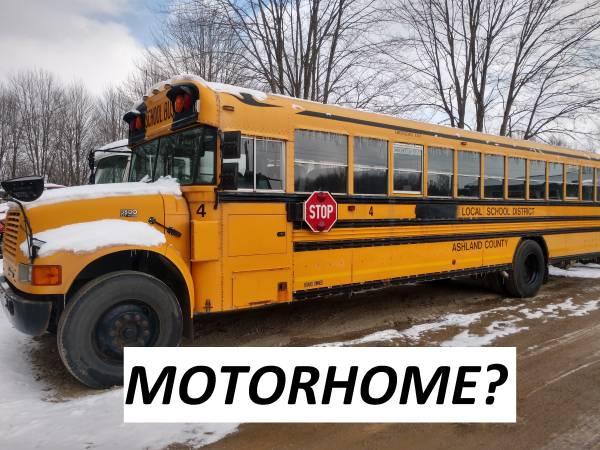 2002 INTERNATIONAL DT466 ALLISON AUTO MOTORHOME? (DEERFIELD, OH) $4950  4950