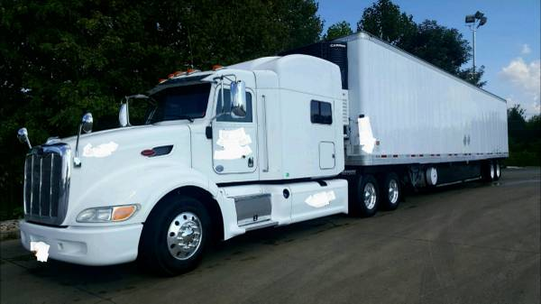 2012 386 Peterbilt & Reefer trailer (NWA) $60000